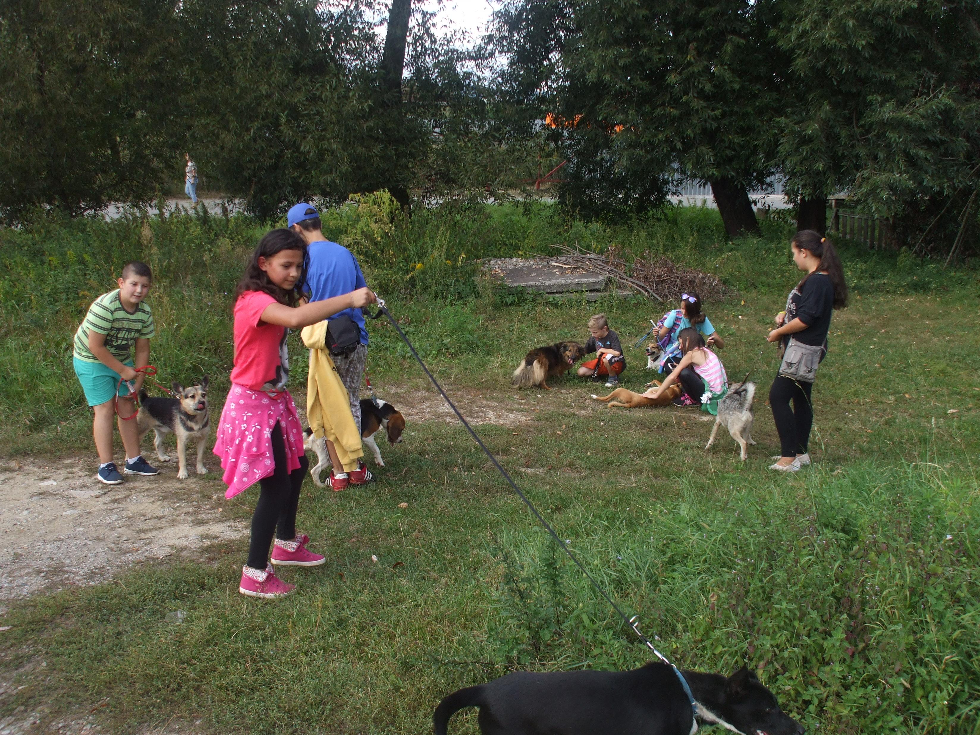 Venčenie psíkov z pohľadu detí