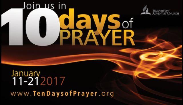 10 dní modlitieb