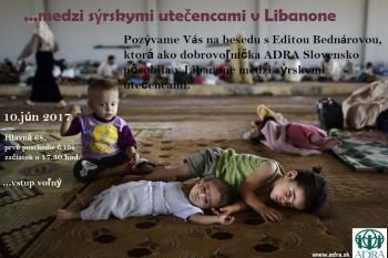 ... medzi Sýrskymi utečencami v Libanone
