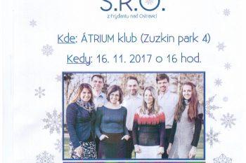 Benefičný koncert skupiny S.R.O.