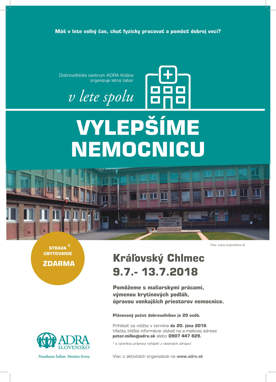 Vylepšíme nemocnicu
