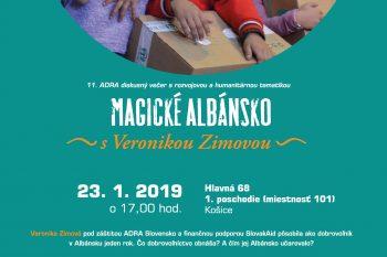 Adra večer - MAGICKÉ ALBÁNSKO s Veronikou Zimovou